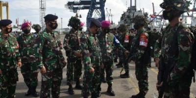 Marinir Gelar Pasukan dan Material Tempur