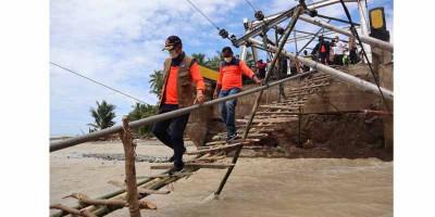 BNPB Upayakan Jembatan Putus di Alor Segera Diperbaiki