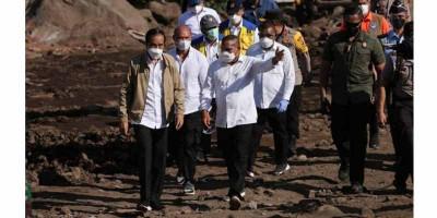 Presiden Jokowi Pastikan Kementerian PUPR Siap Bangun Rumah Relokasi Bencana