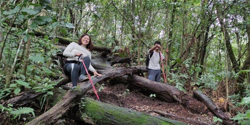 Sensasi Gempa di atas Gunung Kawi
