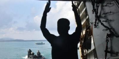 Pasca Serbuan Amfibi Ratusan Pasrat Dan Ranpur Marinir Laksanakan Re Embarkasi