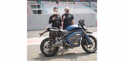 Anubis, Sepeda Motor Listrik Bergaya Adventure Futuristik