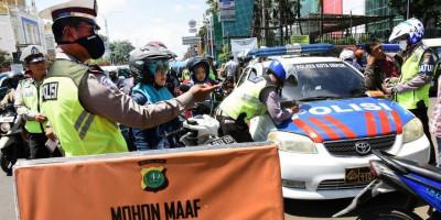 Tekan Penyebaran Covid-19 dan Larangan Mudik, Polda Metro Gelar Operasi Keselamatan Jaya