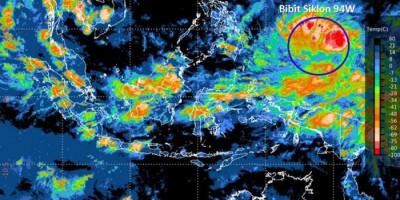 BMKG Deteksi Bibit Siklon Tropis 94W, Ini Dampaknya Bagi Indonesia