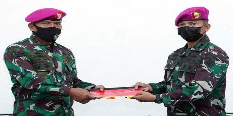 Jelang Sertijab, Komandan Batalyon Roket 2 Marinir Pasmar 2 Laksanakan Memorandum