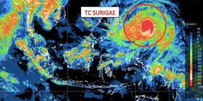 Siklon Tropis Surigae Terus Meningkat, 9 Provinsi Bakal Terdampak