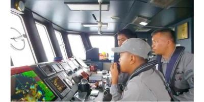 Bakamla RI Peringatkan Kapal Yunani yang Mondar Mandir di ALKI III