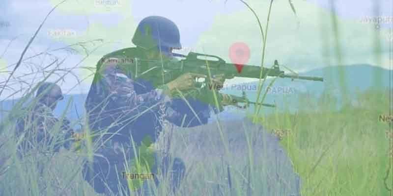 Prajurit TNI yang Membelot ke KKB Bawa 70 Butir Amunisi