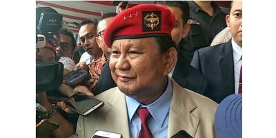 Prabowo Subianto: Menjaga Kedaulatan Negara Sangat Penuh Tantangan