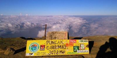 Gunung Ciremai Dibuka Lagi Setelah Lebaran, Pendaki Silakan Daftar Online