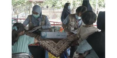 Klinik Apung Sambangi Warga Kepulauan Seribu