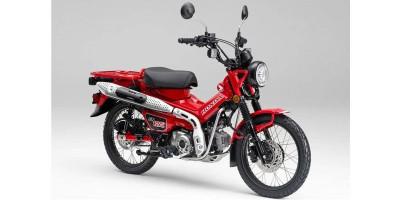 Generasi Baru Motor Bebek Honda CT125
