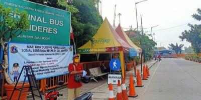 Larangan Mudik, Dua Terminal Bus di Jakarta Tetap Beroperasi
