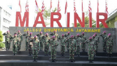 Dankormar Resmi Buka Rakornis Intelijen dan Potensi Maritim Korps Marinir Tahun 2021