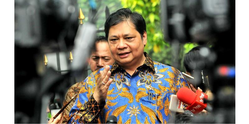 PMI Indonesia Cetak Rekor, Airlangga Hartarto: Bukti Dunia Usaha Kembali Bergeliat