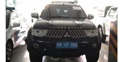 Polisi Amankan Mobil Dinas Kekaisaran Sunda Nusantara