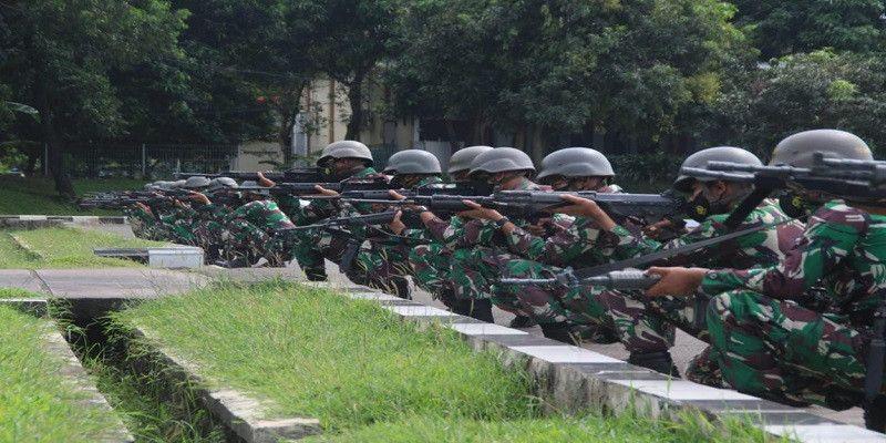 Prajurit Nanggala Laksanakan Latihan Deberkasi dan Gerakan Kapal Kepantai (Gkk)