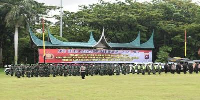 Danyonmarhanlan II Hadiri Apel Gelar Pasukan Operasi Singgalang Ketupat 2021