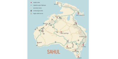 Ditemukan Jalur Kuno dari Papua Hingga Australia