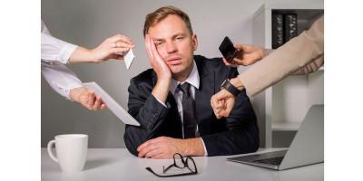 Satu dari Lima Karyawan Mengalami Stres di Tempat Kerja