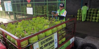 Jelang Lebaran Stok Elpiji di Sukabumi Aman