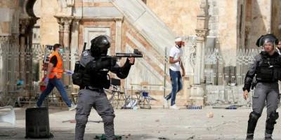 Lemparan Batu Warga Palestina Dibalas Granat Israel
