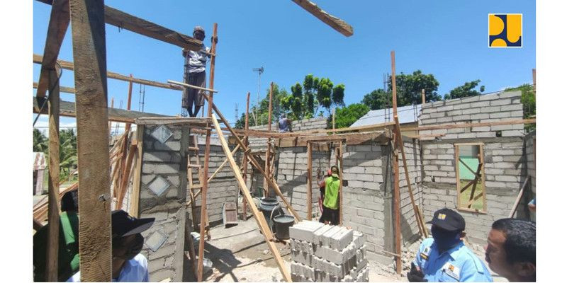 Inovasi Infrastruktur, Kementerian PUPR Gunakan Teknologi Lapisan Ferosemen Program BSPS