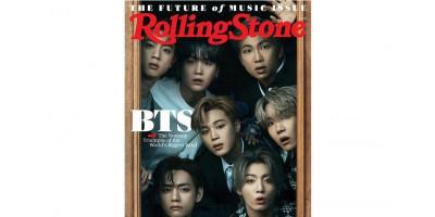 BTS Jadi yang Pertama dari Asia Hiasi Cover Majalah Rolling Stones