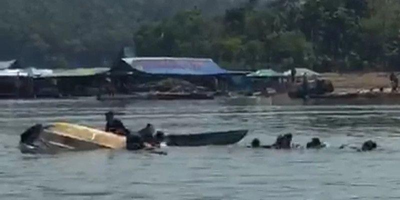 Perahu Terbalik di Waduk Kedung Ombo, 9 Wisatawan Hilang