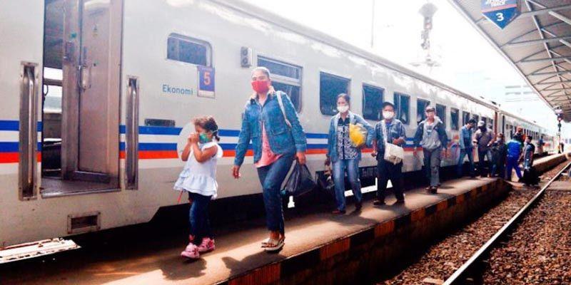 684 Calon Penumpang Kereta Gagal Berangkat Selama Masa Larangan Mudik