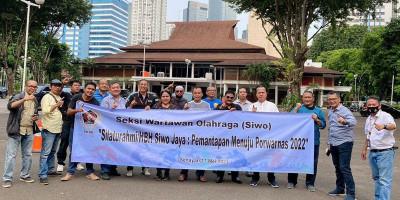 PWI DKI Siap Ikut Porwanas 2022 di Jawa Timur