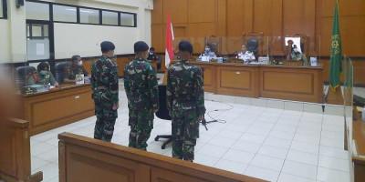 Sidang Putusan Terdakwa Kasus Penyerangan Polsek Ciracas