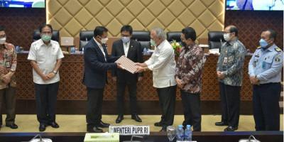 Menteri Basuki Sampaikan Pandangan Presiden Tentang RUU Perubahan Atas UU Jalan