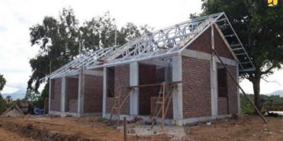 Pemerintah Distribusikan Panel ke Lokasi Pembangunan Hunian Tetap Pascabencana NTT dan NTB