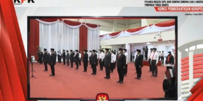 1.271 Pegawai KPK yang Lulus Tes Wawasan Kebangsaan Resmi Jadi ASN