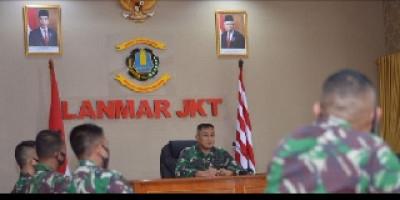 Danlanmar Jakarta Berikan Arahan Kepada Calon Diktukba LII