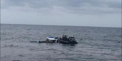 KN Pulau Nipah-321 Selamatkan 4 Nelayan yang Tenggelam di Perairan Belawan