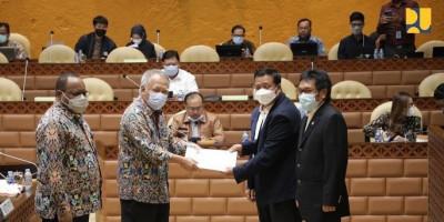 Menteri Basuki: Prioritas Pembangunan Tahun 2022 pada Pemanfaatan Infrastruktur yang Sudah Terbangun