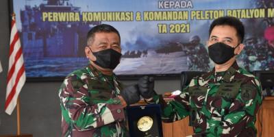 Marinir Laksanakan Latihan Teknis Bidang Komlek