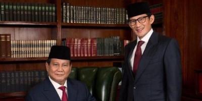 Hasil Konsolidasi Internal Gerindra: Prabowo Capres, Tak Ada Nama Sandiaga Uno