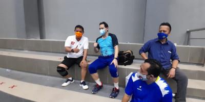 Haryanto Arbie Beri Dukungan SSM Badminton Championship
