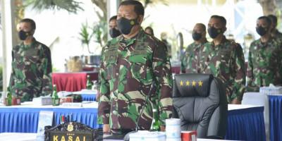 Dankormar Hadiri Pembukaan Latihan Armada Jaya Ke - XXXIX 2021