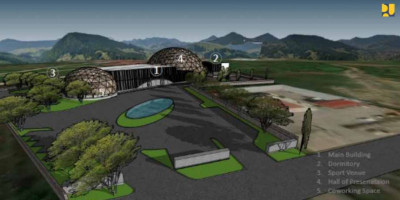 Kementerian PUPR Dukung Pembangunan Papua Youth Creative Hub