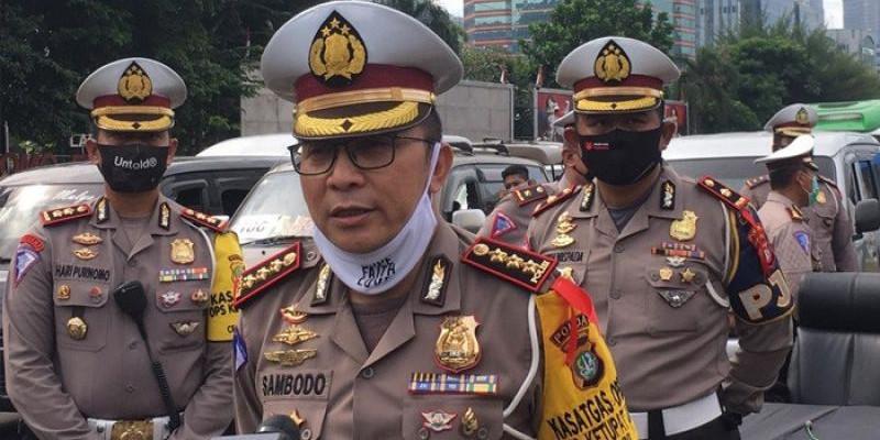 Polisi Dirikan 15 Check Point PPKM Mikro Cegah Penyebaran Covid-19 di Jakarta