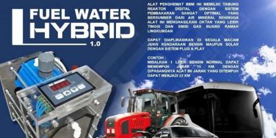 Efiensi BBM Kendaraan Berbahan Bakar Air Mineral