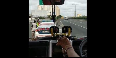 Video Viral, Oknum Polisi Terima Pemberian dari Kernet di Tol Wiyoto Wiyono Tanjung Priok