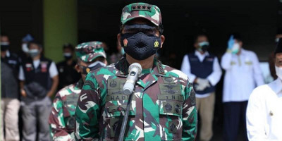 Panglima TNI Pasang Target, Herd Immunity di Bandung Tercapai Akhir Agustus