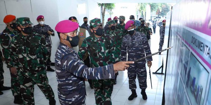 Panglima TNI Pastikan Gedung Dolos Marinir Jadi Sarana Perawatan Covid-19