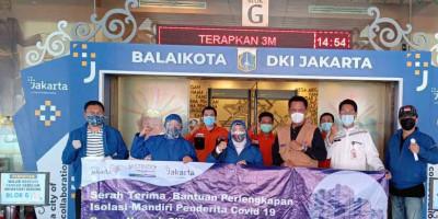 Peduli Covid, ASTINDO DPD DKI Jakarta Berikan Bantuan Perlengkapan Isolasi Mandiri Di Rusun Nagrak Cilincing