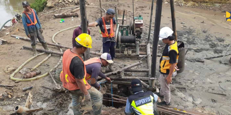 Kementerian PUPR Targetkan Jembatan Duplikasi Cisokan di Kabupaten Cianjur Selesai November 2021